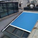 Lắp đặt mái bạt che nắng cho giếng trời ở Phan Thiết - Bình Thuận
