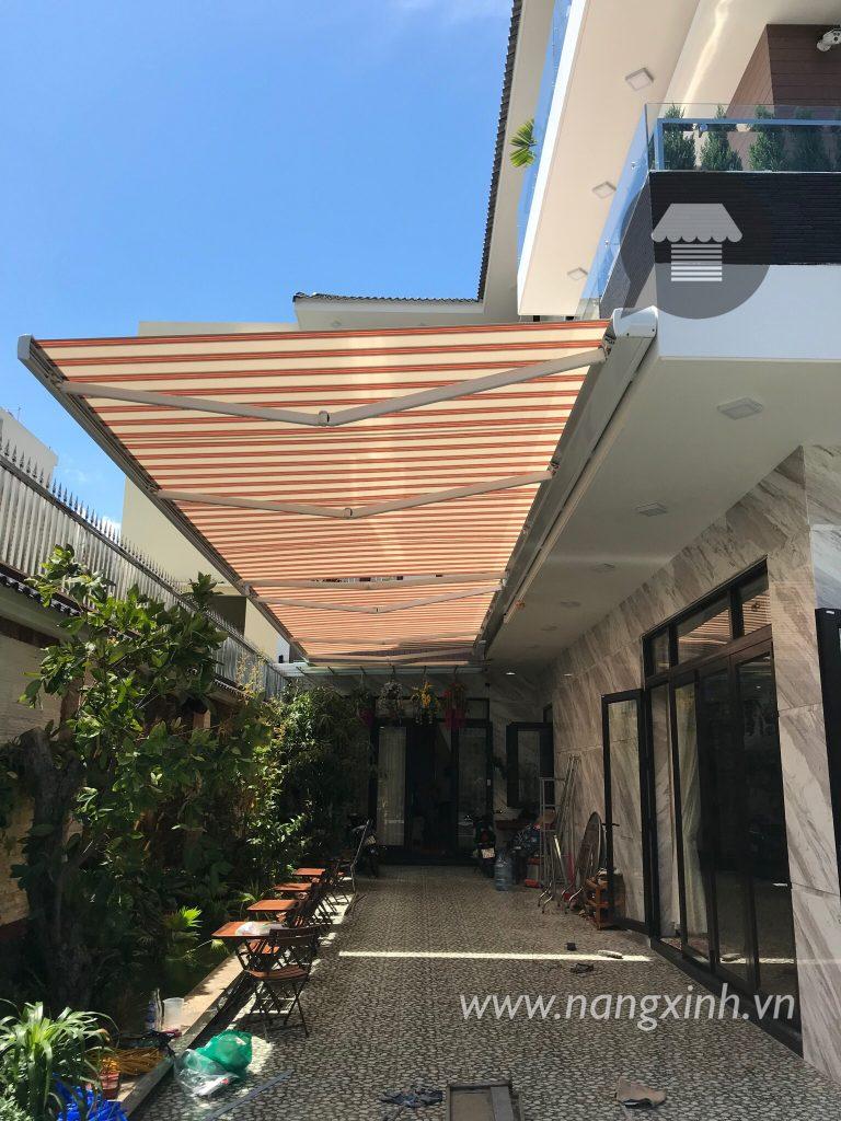 Công trình mái che của quán cà phê