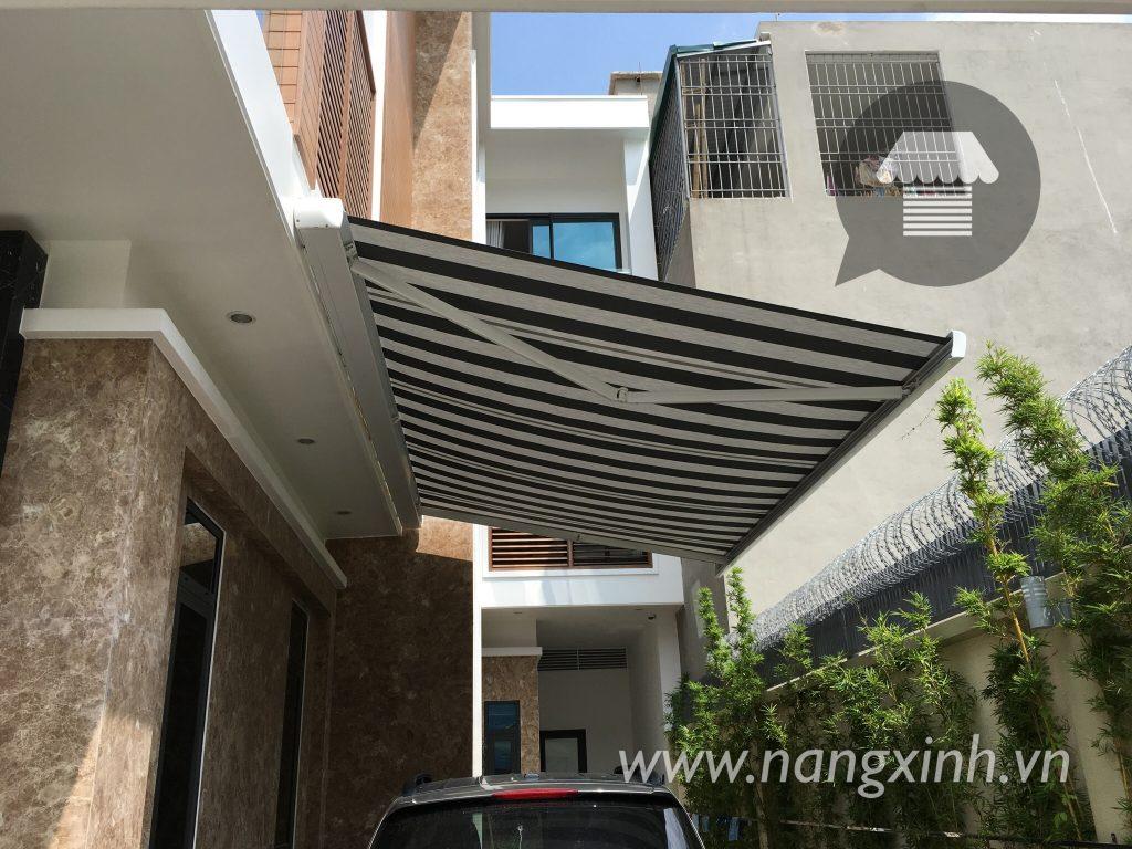 Mái hiên không làm hỏng tinh sang trọng của kiến trúc