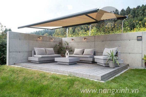 Mái che sân vườn phù hợp mọi nhà